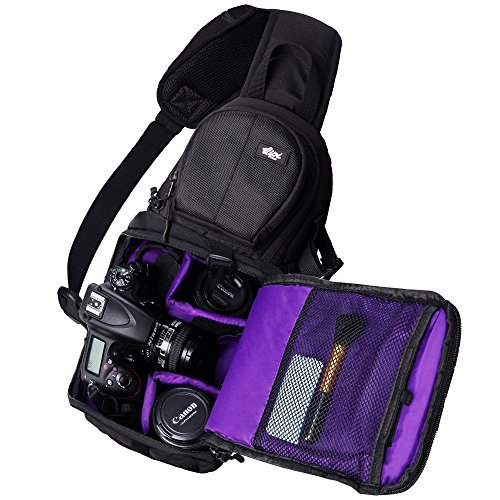 SLING BAG STYLE CAMERA BACKPACK Quick rotation from the back to the front  of your body gives you fast and easy access to your camera. a21ad52795cf2