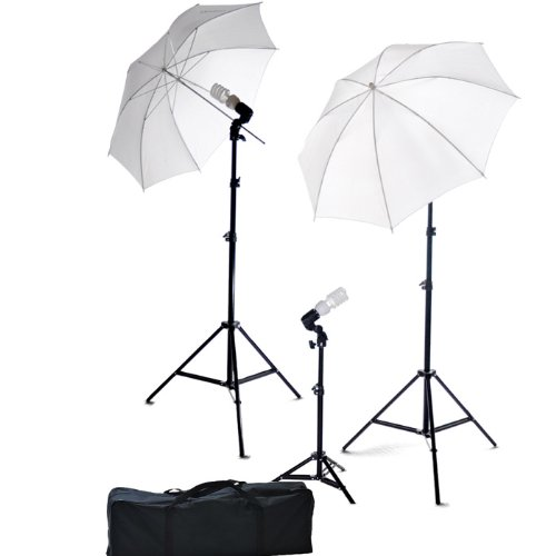 ePhoto Photography Video Portrait Studio Light Kit Photo Umbrella Continuous Lighting Kit with Carrying Case DK3B  sc 1 st  Camera World & ePhoto Photography Video Portrait Studio Light Kit Photo Umbrella ...